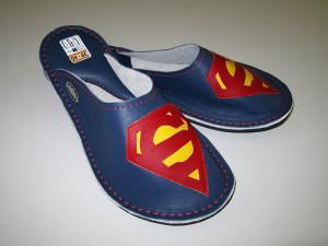 Leder Hausschuhe Superman #1
