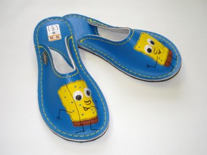 Usnjeni copati SpongeBob #1