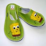 Usnjeni copati SpongeBob #2