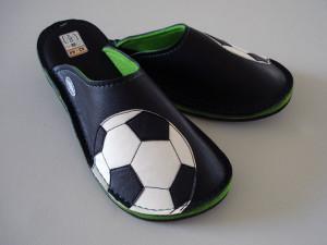 Usnjeni copati Football #1