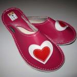Usnjeni copati Love #3